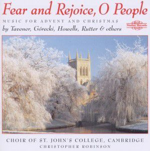 Fear And Rejoice,O People, Choir of St.Johns College