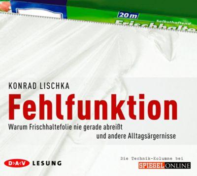 Fehlfunktion, 2 Audio-CDs, Konrad Lischka
