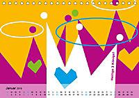 Fehmarn PopArt / 2019 (Tischkalender 2019 DIN A5 quer) - Produktdetailbild 1