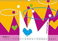 Fehmarn PopArt / 2019 (Wandkalender 2019 DIN A3 quer) - Produktdetailbild 1
