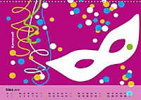 Fehmarn PopArt / 2019 (Wandkalender 2019 DIN A3 quer) - Produktdetailbild 3