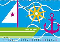 Fehmarn PopArt / 2019 (Wandkalender 2019 DIN A3 quer) - Produktdetailbild 6