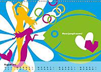 Fehmarn PopArt / 2019 (Wandkalender 2019 DIN A3 quer) - Produktdetailbild 8