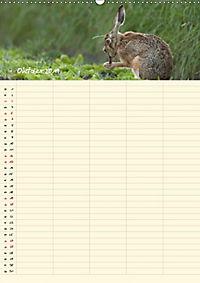 Feldhasen - Familienplaner (Wandkalender 2019 DIN A2 hoch) - Produktdetailbild 10