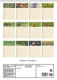 Feldhasen - Familienplaner (Wandkalender 2019 DIN A3 hoch) - Produktdetailbild 13