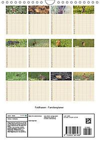 Feldhasen - Familienplaner (Wandkalender 2019 DIN A4 hoch) - Produktdetailbild 6