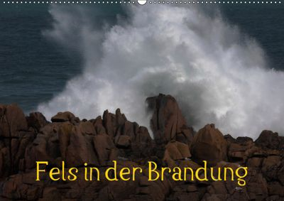 Fels in der Brandung (Wandkalender 2019 DIN A2 quer), Günther Essbach