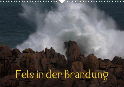 Fels in der Brandung (Wandkalender 2019 DIN A3 quer), Günther Essbach