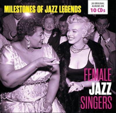Female Jazz Singers - Milestones of Jazz Legends, 10 CDs, Various, Vaughn, Washington, Franklin