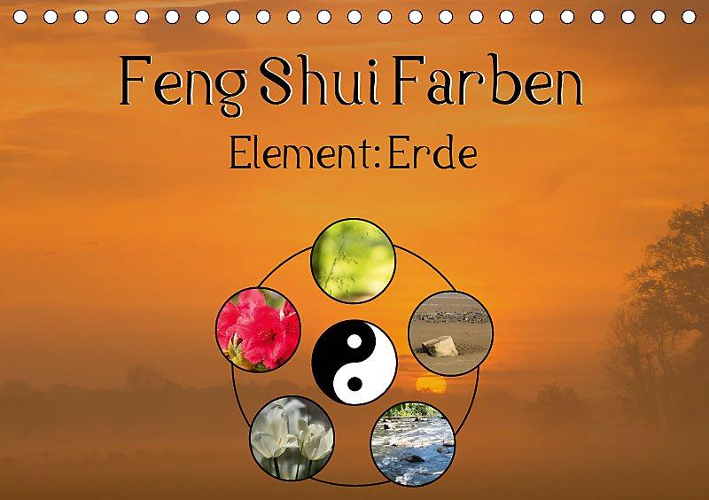Feng Shui Farben - Element Erde Tischkalender 2019 DIN A5 quer ...