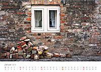 FENSTER, TÜREN UND STRUKTUREN schräge Winkel - dunkle Ecken. (Wandkalender 2019 DIN A2 quer) - Produktdetailbild 1