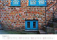 FENSTER, TÜREN UND STRUKTUREN schräge Winkel - dunkle Ecken. (Tischkalender 2019 DIN A5 quer) - Produktdetailbild 8