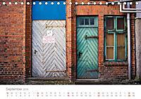 FENSTER, TÜREN UND STRUKTUREN schräge Winkel - dunkle Ecken. (Tischkalender 2019 DIN A5 quer) - Produktdetailbild 9