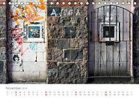 FENSTER, TÜREN UND STRUKTUREN schräge Winkel - dunkle Ecken. (Tischkalender 2019 DIN A5 quer) - Produktdetailbild 11