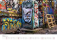 FENSTER, TÜREN UND STRUKTUREN schräge Winkel - dunkle Ecken. (Tischkalender 2019 DIN A5 quer) - Produktdetailbild 3