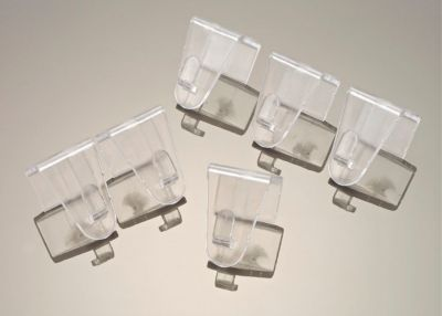 Fensterklipp transparent, 10er Set