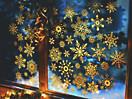 Fenstersticker Sterne, 47-teilig