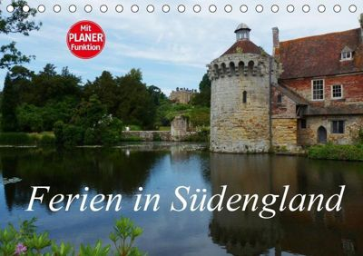 Ferien in Südengland (Tischkalender 2019 DIN A5 quer), Gisela Kruse