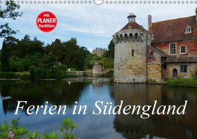 Ferien in Südengland (Wandkalender 2019 DIN A3 quer), Gisela Kruse