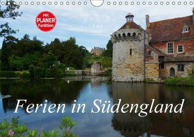 Ferien in Südengland (Wandkalender 2019 DIN A4 quer), Gisela Kruse