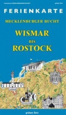 Ferienkarte Mecklenburger Bucht Wismar-Rostock