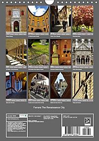 Ferrara The Renaissance City (Wall Calendar 2019 DIN A4 Portrait) - Produktdetailbild 13