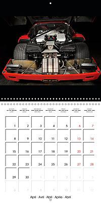 Ferrari F40 LM (Wall Calendar 2019 300 × 300 mm Square) - Produktdetailbild 4