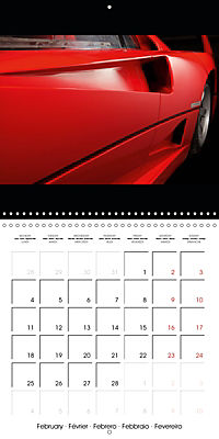 Ferrari F40 LM (Wall Calendar 2019 300 × 300 mm Square) - Produktdetailbild 2