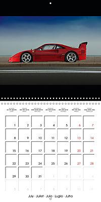 Ferrari F40 LM (Wall Calendar 2019 300 × 300 mm Square) - Produktdetailbild 7