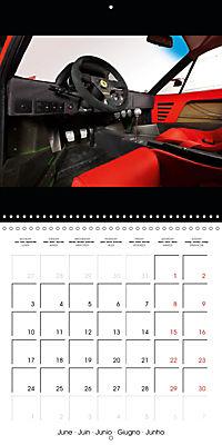Ferrari F40 LM (Wall Calendar 2019 300 × 300 mm Square) - Produktdetailbild 6
