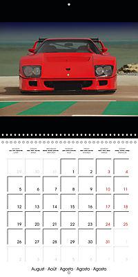 Ferrari F40 LM (Wall Calendar 2019 300 × 300 mm Square) - Produktdetailbild 8