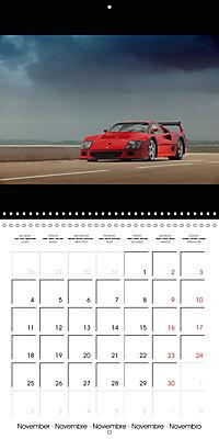 Ferrari F40 LM (Wall Calendar 2019 300 × 300 mm Square) - Produktdetailbild 11