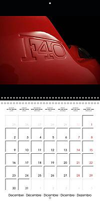 Ferrari F40 LM (Wall Calendar 2019 300 × 300 mm Square) - Produktdetailbild 12