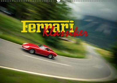Ferrari Klassiker (Wandkalender 2019 DIN A2 quer), Johann Hinrichs