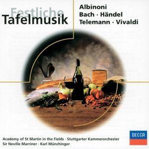 Festliche Tafelmusik, Neville Marriner, Amf