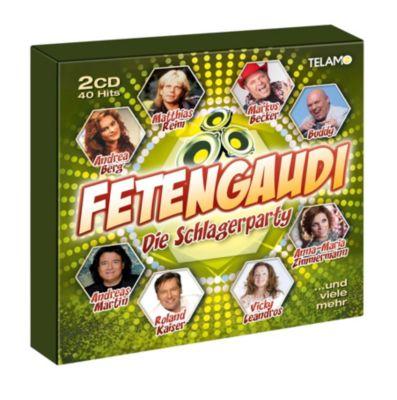 Fetengaudi - Die Schlagerparty (2 CDs), Diverse Interpreten