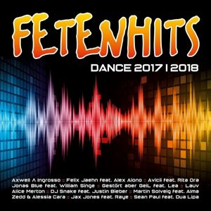 Fetenhits Dance 2017 - 2018, Diverse Interpreten