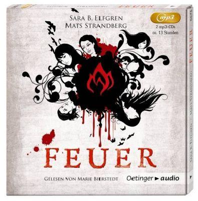 Feuer, 2 MP3-CDs, Mats Strandberg, Sara B. Elfgren