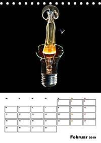 Feuer und Rauch Verbrennen (Tischkalender 2019 DIN A5 hoch) - Produktdetailbild 2