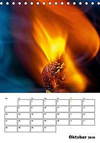 Feuer und Rauch Verbrennen (Tischkalender 2019 DIN A5 hoch) - Produktdetailbild 4