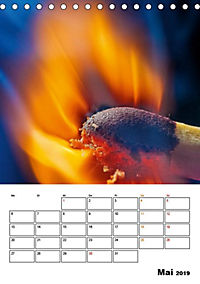 Feuer und Rauch Verbrennen (Tischkalender 2019 DIN A5 hoch) - Produktdetailbild 6