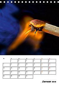 Feuer und Rauch Verbrennen (Tischkalender 2019 DIN A5 hoch) - Produktdetailbild 1