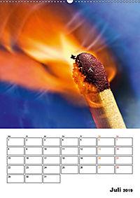Feuer und Rauch Verbrennen (Wandkalender 2019 DIN A2 hoch) - Produktdetailbild 7