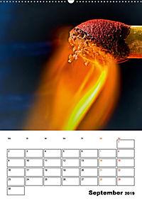 Feuer und Rauch Verbrennen (Wandkalender 2019 DIN A2 hoch) - Produktdetailbild 9