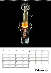 Feuer und Rauch Verbrennen (Wandkalender 2019 DIN A2 hoch) - Produktdetailbild 2