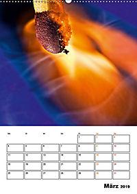 Feuer und Rauch Verbrennen (Wandkalender 2019 DIN A2 hoch) - Produktdetailbild 3