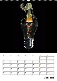 Feuer und Rauch Verbrennen (Wandkalender 2019 DIN A2 hoch) - Produktdetailbild 6