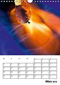Feuer und Rauch Verbrennen (Wandkalender 2019 DIN A4 hoch) - Produktdetailbild 3