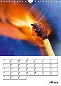 Feuer und Rauch Verbrennen (Wandkalender 2019 DIN A4 hoch) - Produktdetailbild 7