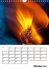 Feuer und Rauch Verbrennen (Wandkalender 2019 DIN A4 hoch) - Produktdetailbild 10